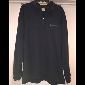 Columbia Sweaters - Men's Columbia Quarter Zip Sweatshirt XL